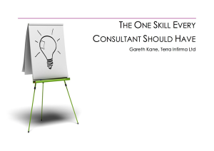 The One Skill Every Consultant Should Have Whitepaper