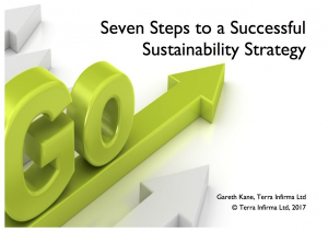 Seven Steps to a Successful Sustainability Strategy Whitepaper