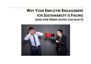 Why Your Employee Engagement for Sustainability is Failing Whitepaper